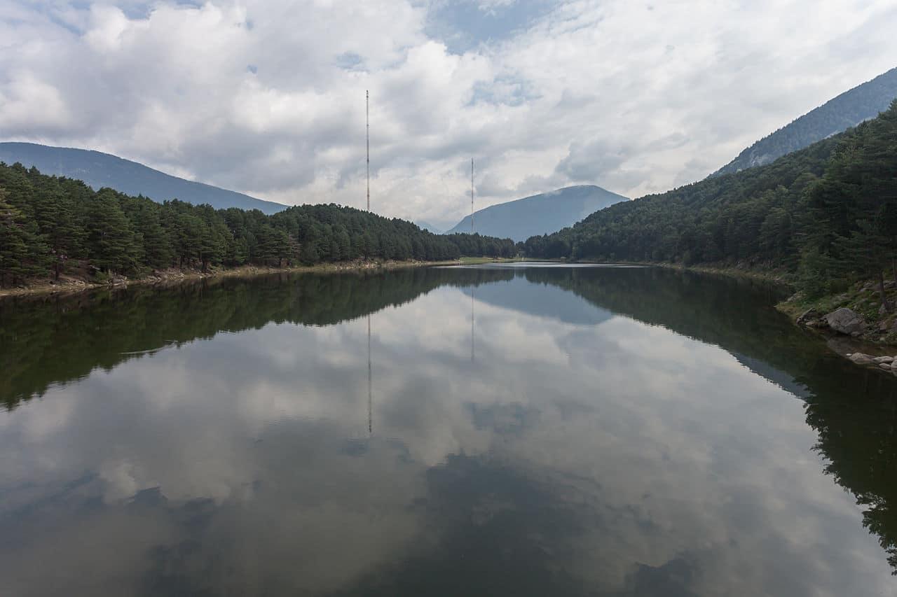 Engolasters Lake Andorra