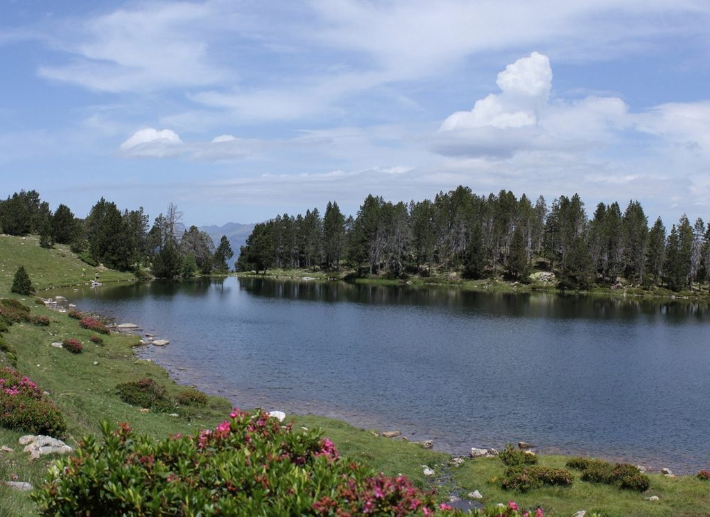 Estany de la Nou is one of the most picturesque and secluded lakes in Andorra.