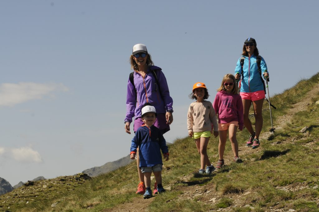 Andora Whole Family Hiking