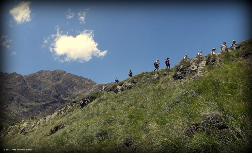Hiking is one of the most popular things to do in Andorra in the summer.
