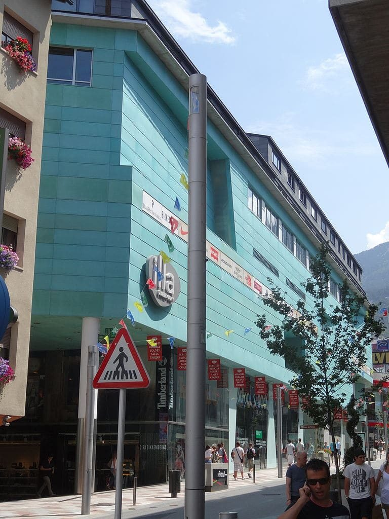 Illa Carlemany is one of the major shopping centres in Andorra la Vella.