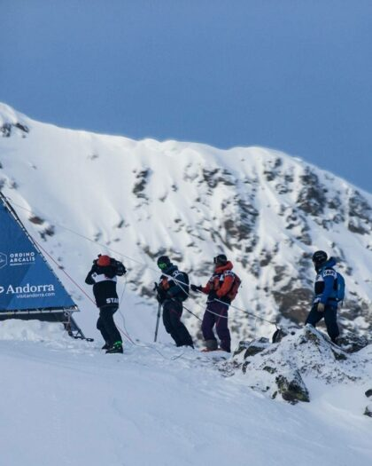 Freeride World Tour in Andorra