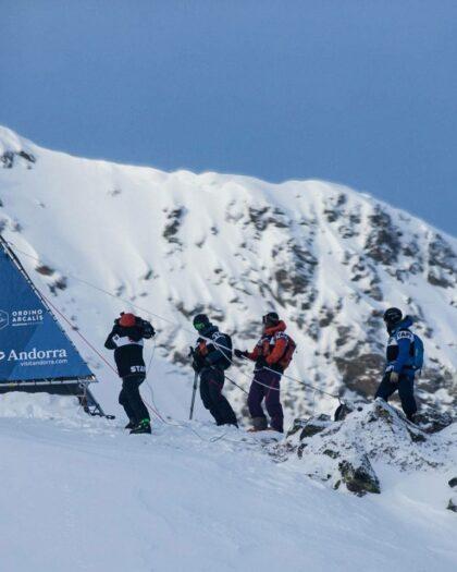 Freeride World Tour in Andorra